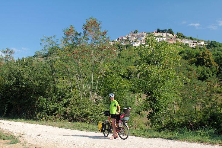 Kerékpártúra a Parenzanán
