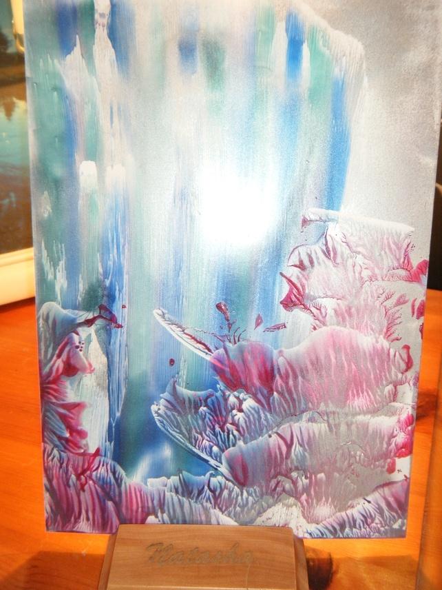 Encaustic Art Wax Painting £20.00
