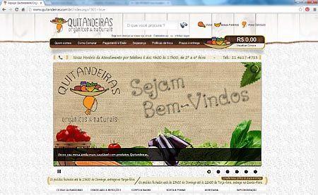 Loja Virtual da Quitandeiras - Produtos Alimentícios Orgânicos
