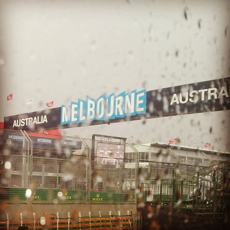 Wet in Melbourne