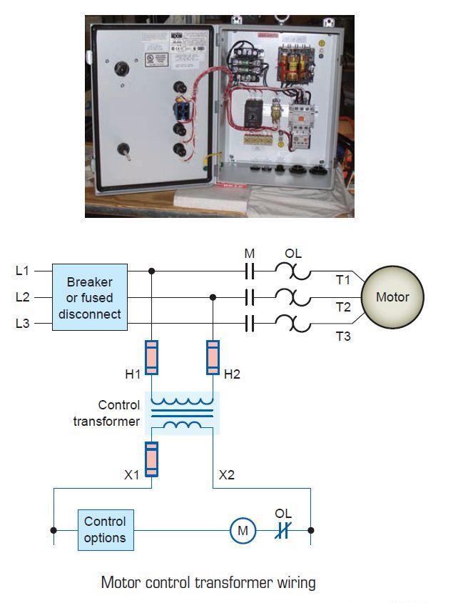 Motor Control Transformer  sc 1 st  Pinterest : pool light transformer wiring diagram - yogabreezes.com