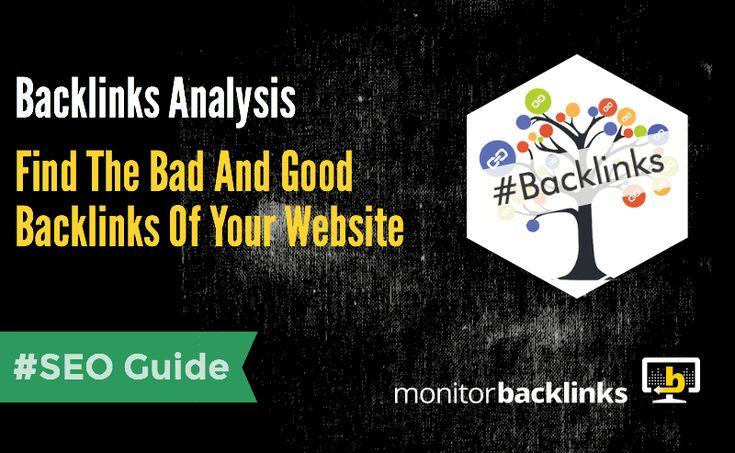 Find Bad And Good Backlinks