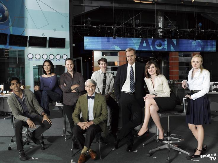 The Newsroom cast. Bravo!