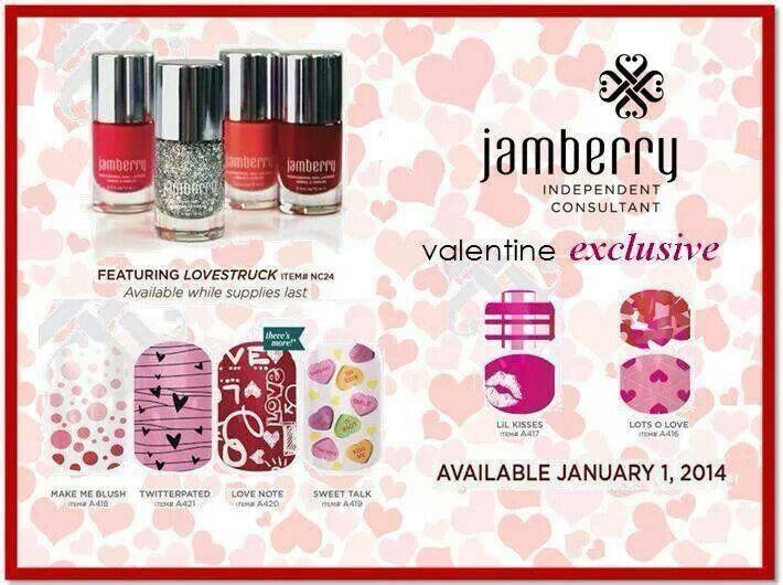 valentine's jamberry