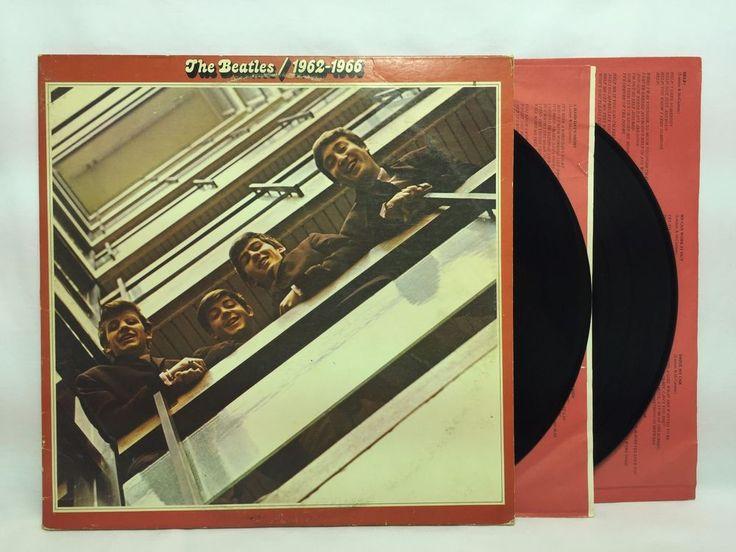 The Beatles 1962-1966 Red Capitol Label LP #Vinyl Record 2LP Gatefold