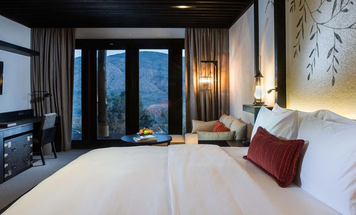 alila jabal akhdar resort in oman perched 2000 metres above sea-level