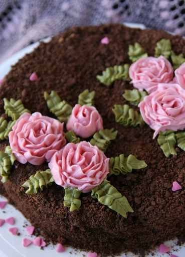 Trühvlitort. Truffle cake. By Sille @ Toidutegu