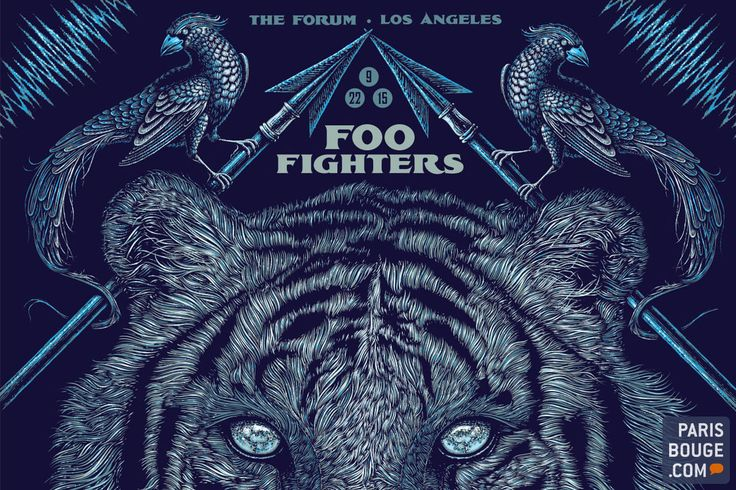 Expo Foo Fighters Sonic Art Ways : les affiches de concerts des Foo Fighters à Paris