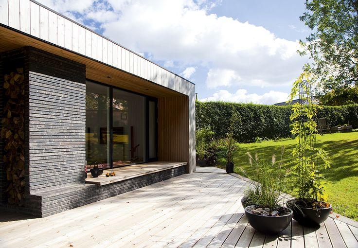 Først og fremmest var det en brændende lyst til at udfordre en vidunderlig naturgrund ved Odder, der fik arkitekt Kenneth Arboe til at sætte sig ved tegnebordet for et par år siden.