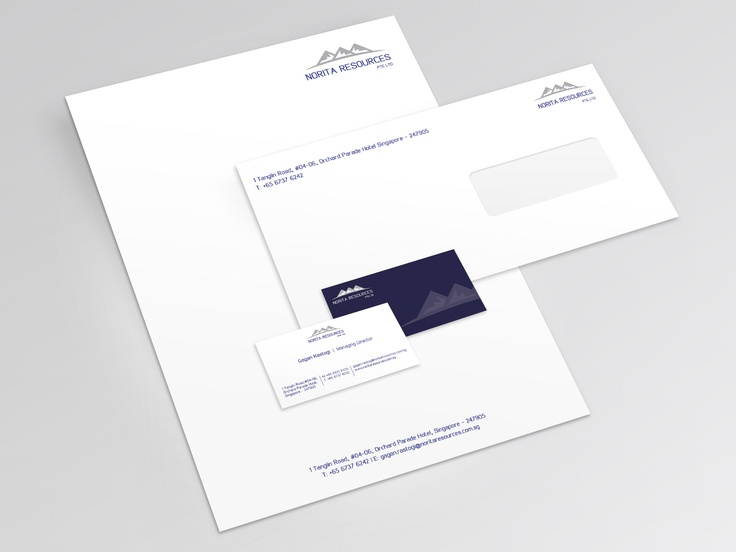 Stationery Design for Norita Resources