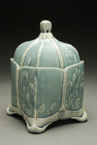 My new favorite ceramic artist Kristen Kieffer!! Her influences are Art Nouveau, Victorian ceramics and clothing, haute couture, arts & crafts, and so many other things that just catch her eye. Her blog provides SO much info about her work, process, influences, and everything in between.