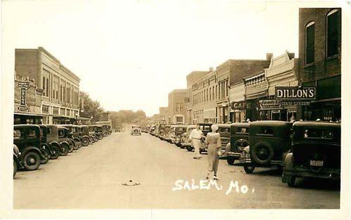 Down town Salem Mo