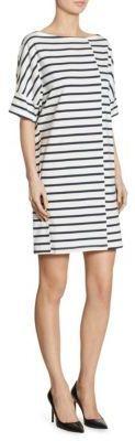 Burberry Striped Jersey T-Shirt Dress