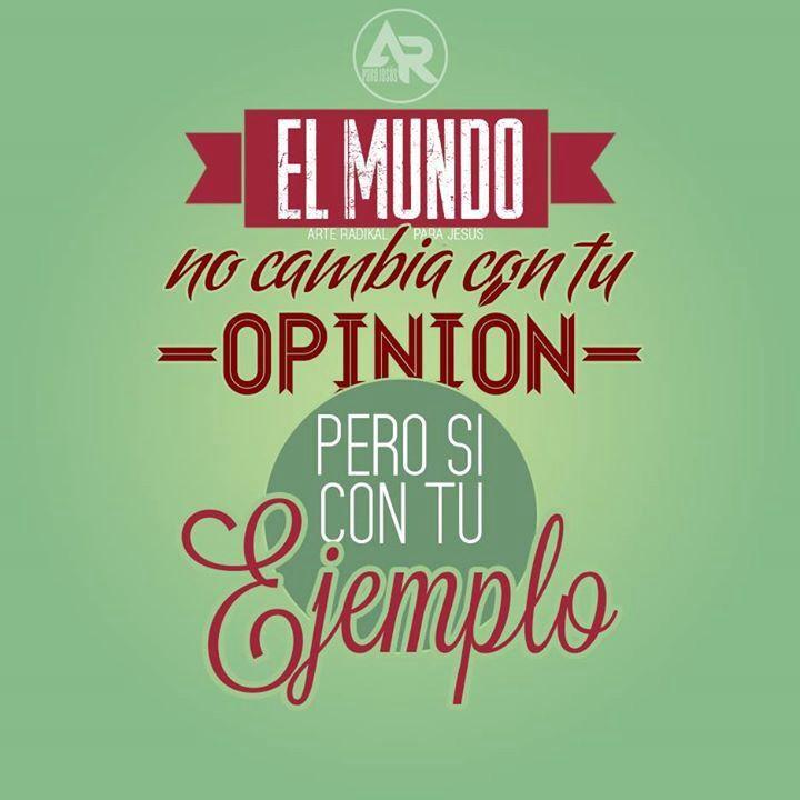 #opinión #ejemplo