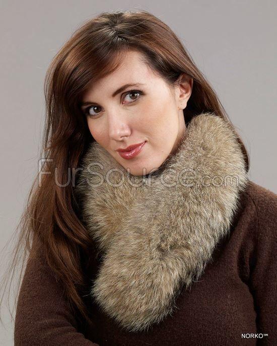 Fur Collar / Scarf - Coyote Fur