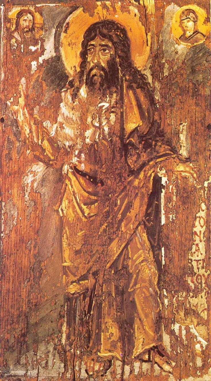 St John the Baptist. St Catherine Monastery. Mt Sinai EGYPT. 6thcentury