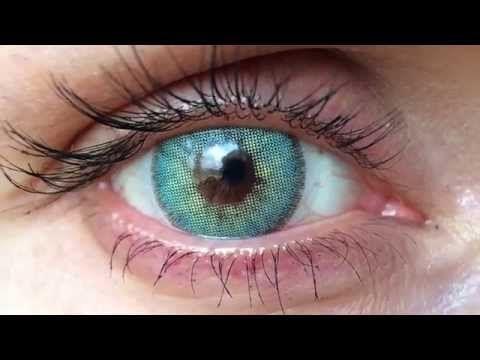 Solotica Natural Colors Coloured Contact Lenses In Topazio
