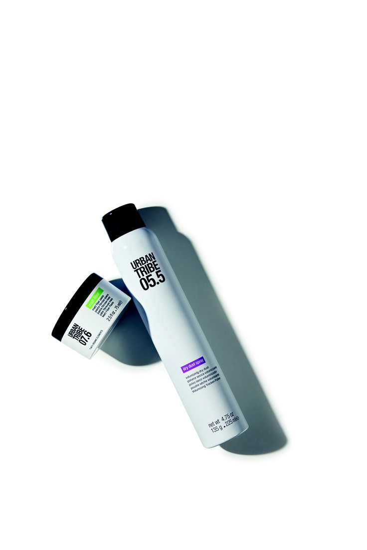 New hairstyling products by Urban Tribe: dry dust spray and matt fiber! #hair #hairstyle #beauty