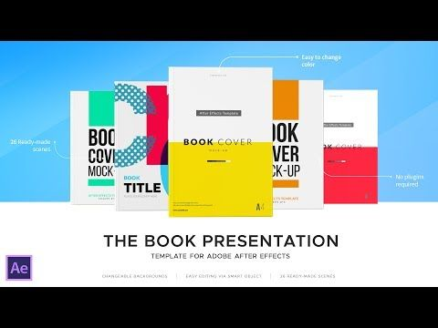 Book Presentation Video - After Effects Template - YouTube