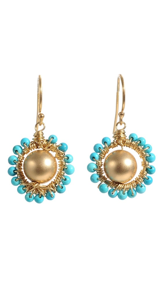 Polly Earrings: Polly Earrings, Earrings Ideas, Sterett Turquoise, Turquoise Teal Aqua, Turquoise Jewelry, Amazing Turquoise