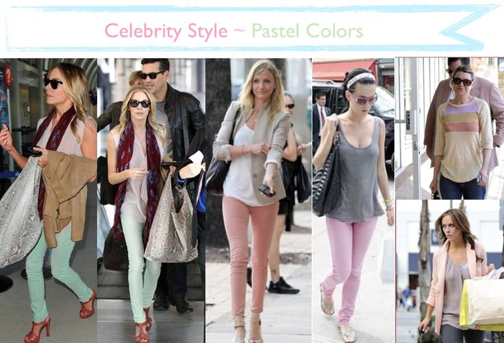 PASTEL PANTS Feb '12. Seen on celebs Leann Rimes, Cameron Diaz, Katy Perry, and Jennifer Love Hewitt. #DefineMyStyle