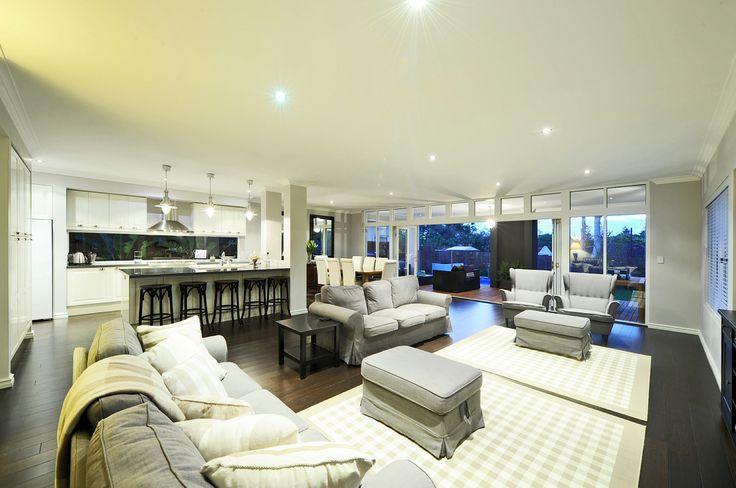 Hampton Style Homes Living Room by the team at nhbb.com.au