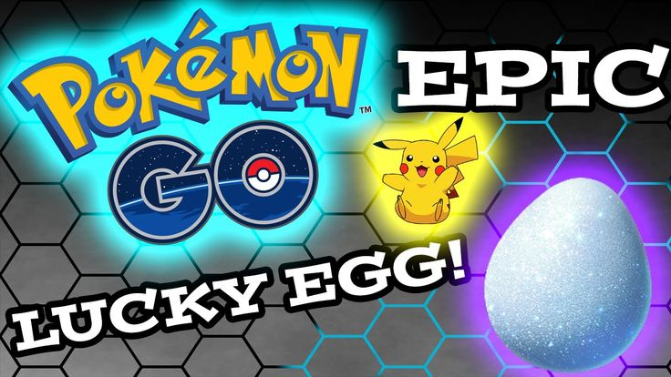 EPIC POKÈMON GO LUCKY EGG!