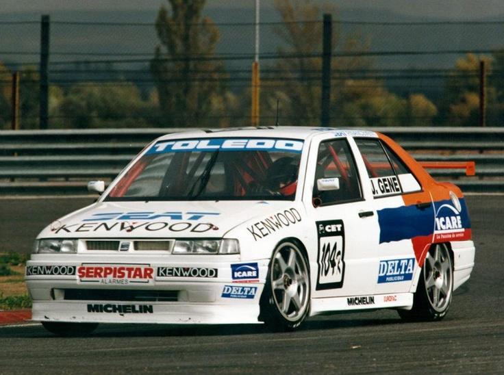 Jordi Gené. SEAT Toledo. Spanish Touring Championship 1993