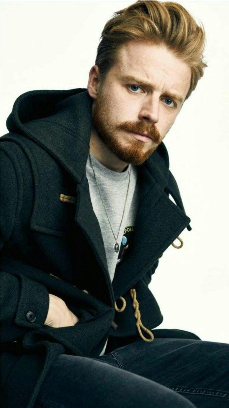 Jack Lowden.  Lovin' the beard.