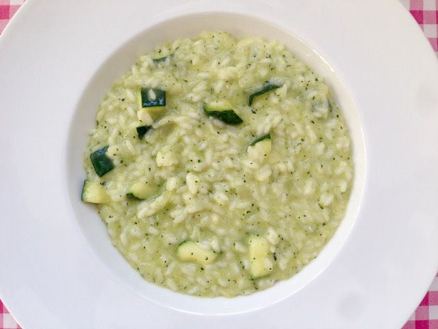 Risotto met courgette | In dit recept is de courgette op 2 manieren gebruikt | Op Alles Over Italiaans Eten kom je erachter welke 2 manieren dit zijn