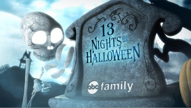 """Halloween is coming soon, so ABC Family has announced their 13 Nights of Halloween lineup. 