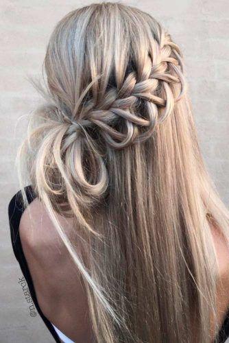 Versuchen Sie 42 Half Up Half Down Prom Frisuren