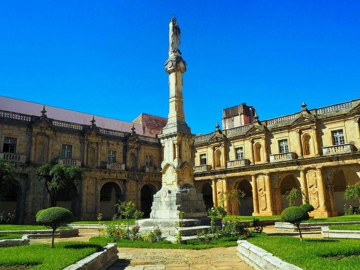 ポルトガル第3の都市コインブラ。新サンタ・クララ修道院