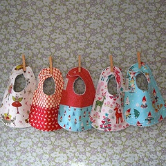 how to display baby bibs - Google Search ... I think maybe a clothesline for display???