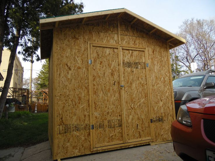 "6x8 sheds 2x4x 5/8 floor.3/8 sheathing.. ..freshly built..all you do is paint. double doors can be on 6ft 0r 8ft. sides.you will have to buy shingles and i will install.   THE ACTUAL DISPLAY is now posted.  FROM "" THE SHED GUY""   ALSO TREE REMOVAL.    TO ALL THE CUSTOMERS THANK YOU FOR PLACING YOUR ORDER.THANK YOU VERY MUCH.  I WILL BE ACCEPTING ORDERS FOR GARAGES NEXT SEASON."