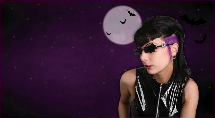 Fledermausbrille | Brillen im Fledermaus Design, Bat Glasses Gothic Sonnenbrillen Drachenbrillen