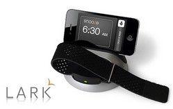 """フォーカルポイント、iPhone/iPadで睡眠中の「起床回数」や「質」を記録できる「LARK アンアラームシステム」  can be recorded during sleep in the iPhone / iPad the """"quality"""" or """"wake-up number of times"""" """"LARK Anne Alarm System"""""""