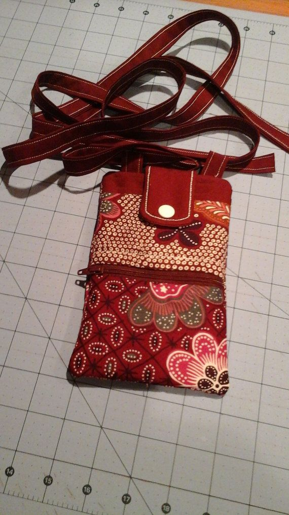 Cell Phone Purse Crossbody strap by DebsAccents on Etsy
