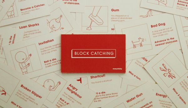 Block Catching Board Game on Behance