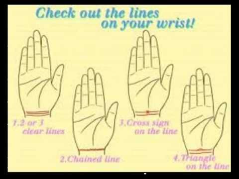DO YOU KNOW THAT YOUR BRACELET LINES HAS A MEANING IN YOUR LIFE? - YouTube