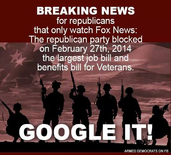 Republican greed to divert  Veterans and Workers benefits to corporate tax cuts and subsidies!!