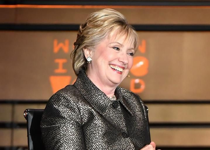 Hillary Clinton is not going away.