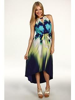 love it!: Dresses Clothing, Fancy Dresses, Prints Dresses, Cocktails Dresses, Clothing I D, Blue Green, Colorful Prom Dresses, I D Wear, Green Dresses
