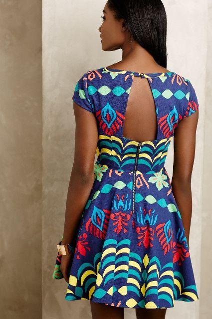La Paz Cutout Dress #anthrofave
