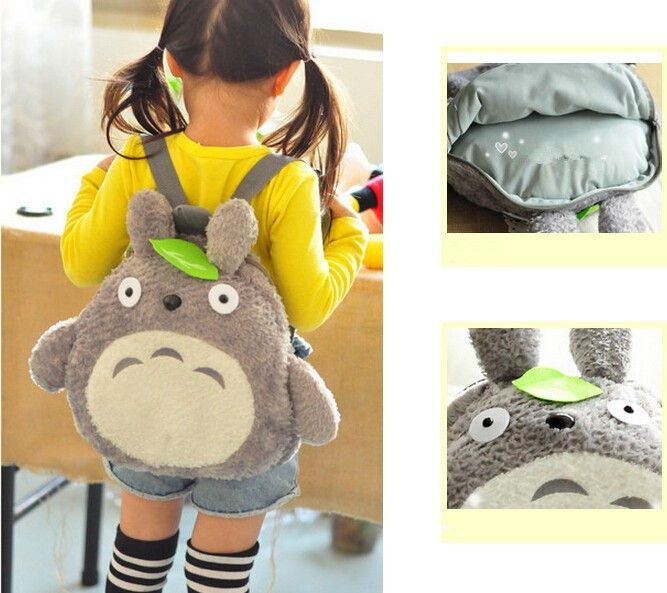 My Neighbor Totoro Backpack I need this to be in a teen size