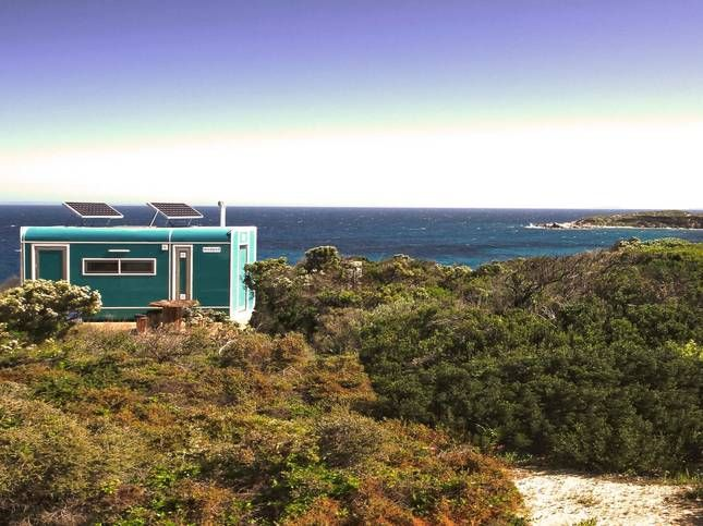 Hillocks Ocean Pod - Butlers Beach, a Marion Bay House | Stayz