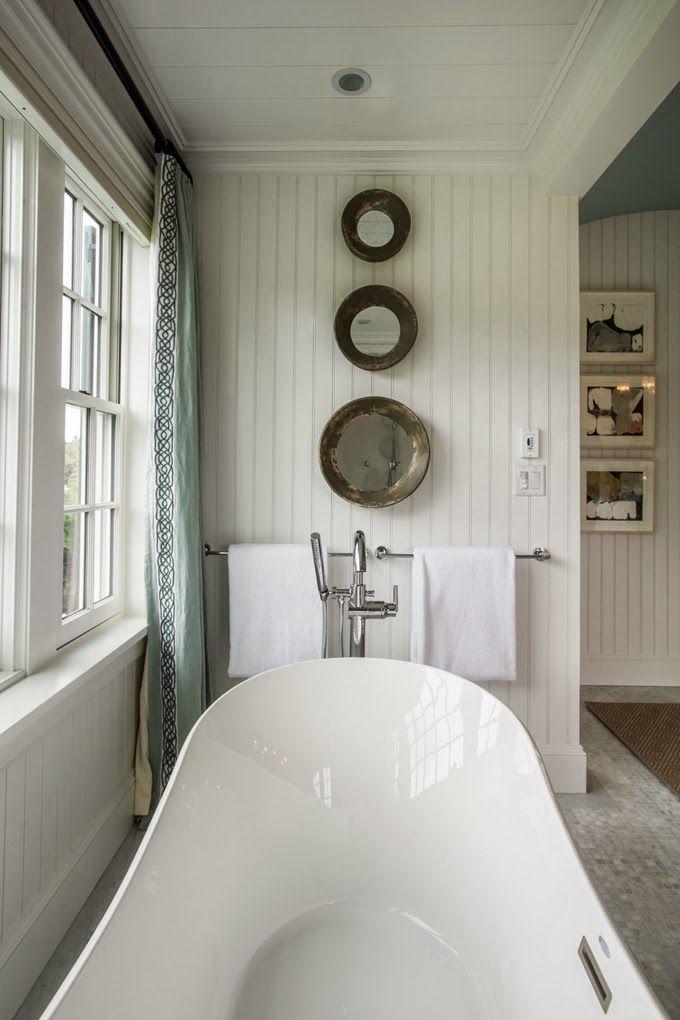 Cottage Bathroom Mirror Ideas