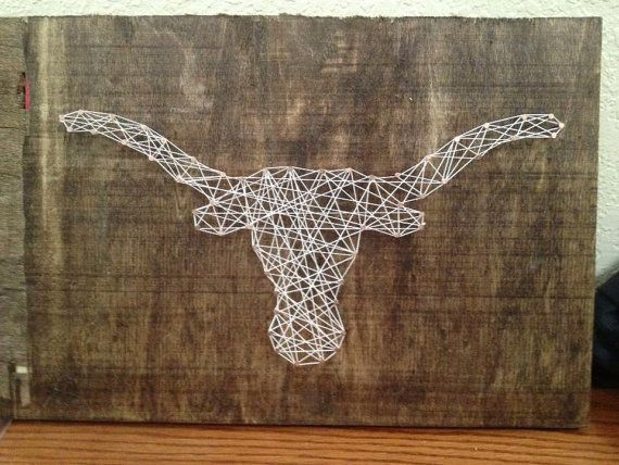 15 Best Images About String Art On Pinterest Horns Nail String