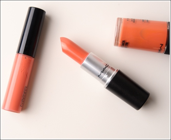 MAC Ravishing Lipglass, Lipstick, Nail Lacquer Review, Photos, Swatches