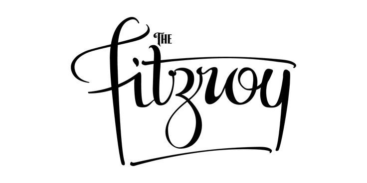 The NEW Fitzroy logo with a swash!